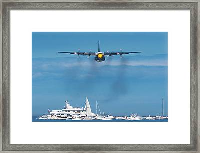 Fat Albert Framed Print by Sebastian Musial