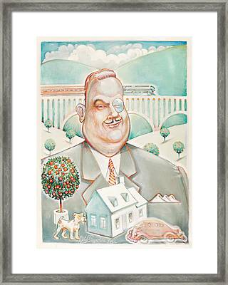 Sir Billiam Framed Print