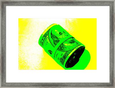 Fat Stacks Framed Print