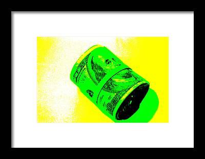 Money Framed Prints