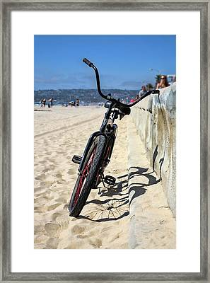 Fat Tire - Color Framed Print