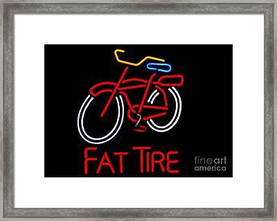 Fat Tire  Framed Print