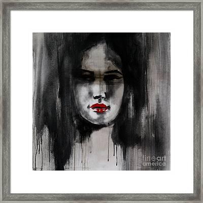 Fatal Allure Framed Print by Jindra Noewi