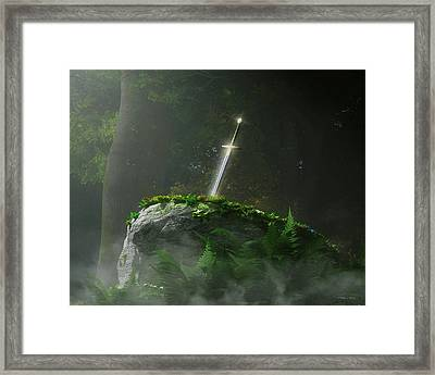 Fate Of A Kingdom Framed Print by Melissa Krauss