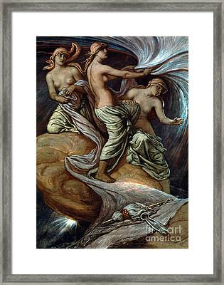 Fates Gathering In Stars Framed Print by Granger
