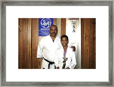 Father And Son 2010 Framed Print