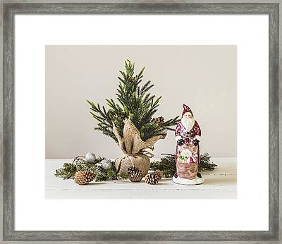 Framed Print featuring the photograph Father Christmas by Kim Hojnacki