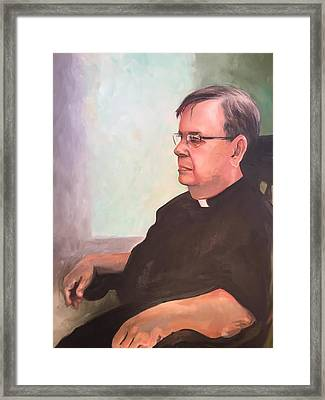 Father Ed Framed Print