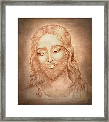 Father Forgive Them  Framed Print