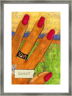 Father I Stretch My Hand To Thee Framed Print