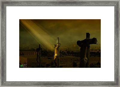 Father, Into Your Hands I Commend My Spirit Framed Print