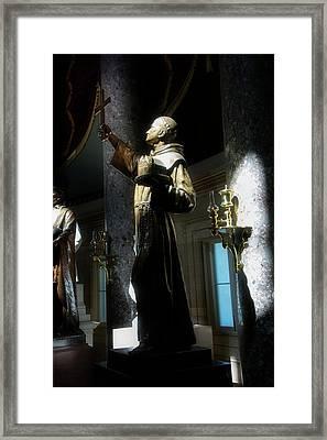 Father Junipero Serra Framed Print