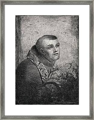 Father Junipero Serra Jose Miguel Serra Framed Print
