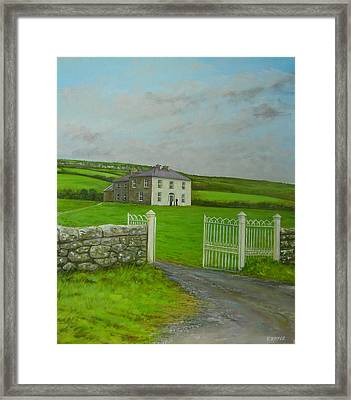 Father Ted Framed Print by Eamon Doyle