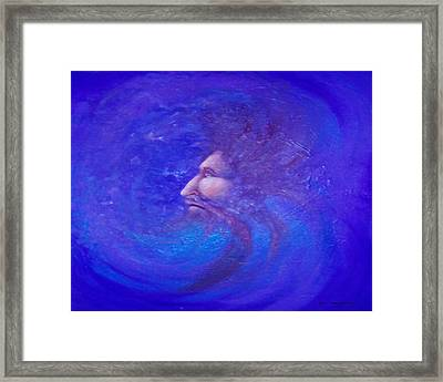 Father Time Framed Print