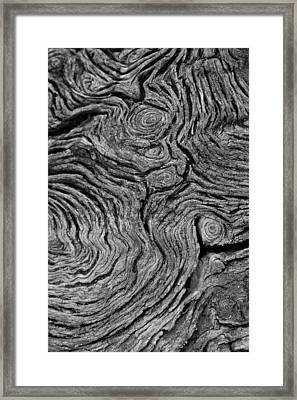 Father Time Framed Print by Victor Rugg