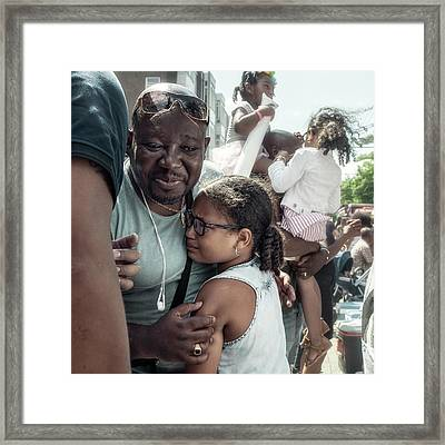 Fathers Framed Print by Michel Verhoef