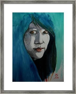 Fatima Framed Print by Ray Agius