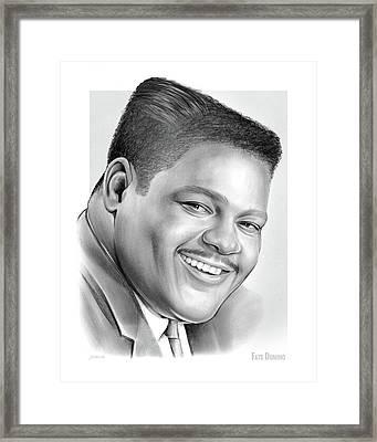 Fats Domino Framed Print