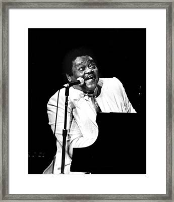 Fats Framed Print
