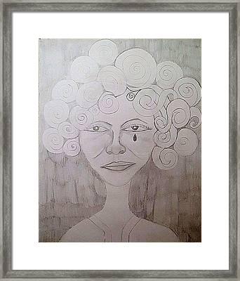 Fatto Un Framed Print by Decreasa Williams