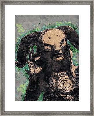 Faun - Pan's Labyrinth  Framed Print