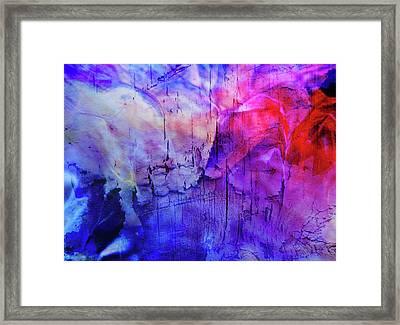 Faux Chasm Framed Print