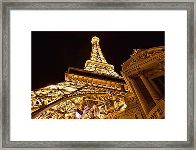 Framed Print featuring the photograph Faux Eiffel by Kim Wilson