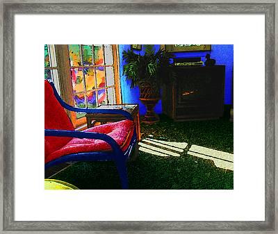 Faux Fauve Interior Framed Print