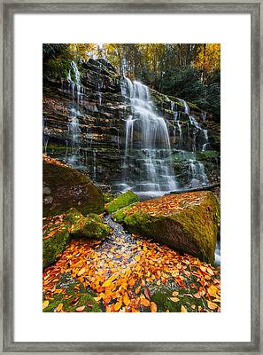 Framed Print featuring the photograph Favorite Time Of Year by Bernard Chen
