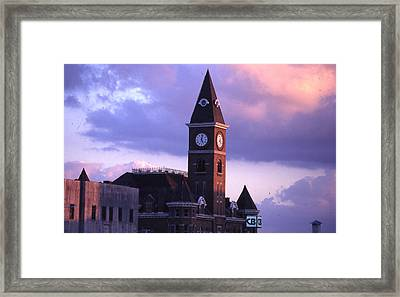 Fayetteville Courthouse Framed Print