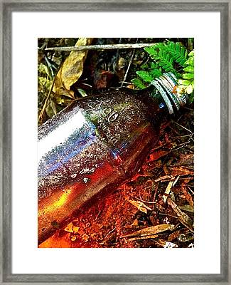 Faygo Luminescence Framed Print by Jennifer Addington