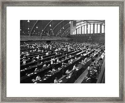 Fbi Forensic Science Built Framed Print by Everett