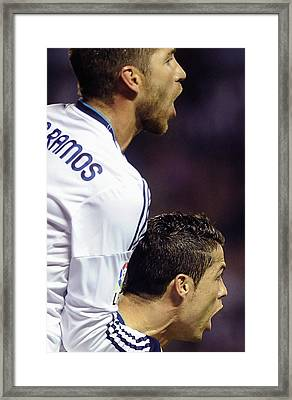 Cristiano Ronaldo 15 Framed Print