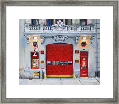 Fdny Engine Company 65 Framed Print by Paul Walsh
