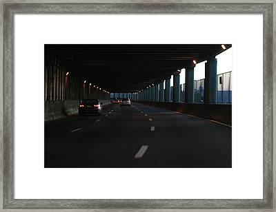 Fdr Drive Framed Print by Christopher Kirby