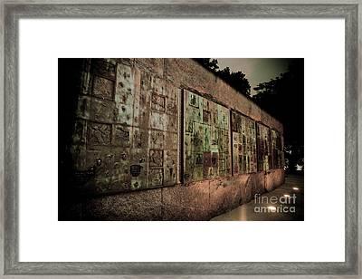 Fdr I Framed Print by Irene Abdou