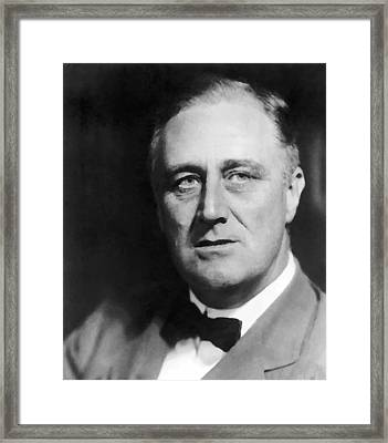 FDR Framed Print by War Is Hell Store