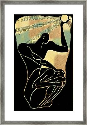 Fear And Healing Framed Print