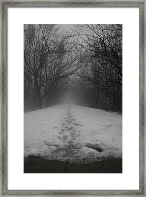 Fear Framed Print