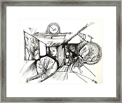 Fear Is A Caterpillar Framed Print by Tim Parrish