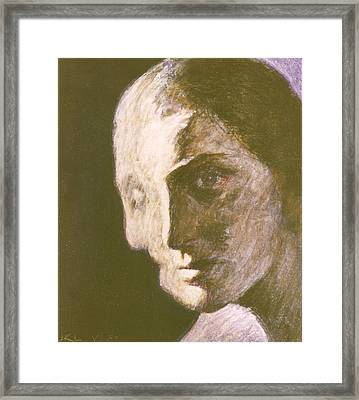 Fear Of Growing Old Framed Print by James LeGros
