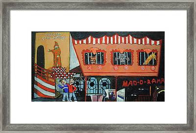 Fear Of The Familiar Framed Print by Patricia Arroyo