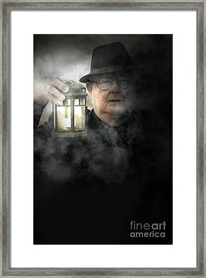 Fear Of The Fog Framed Print