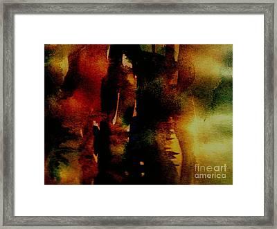 Fear On The Dark Framed Print by Rushan Ruzaick