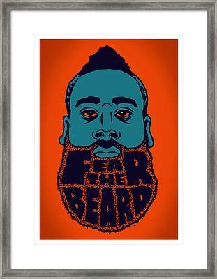 Fear The Beard Framed Print by Jack Perkins