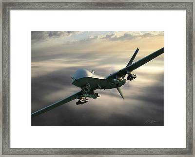Fear The Reaper Framed Print