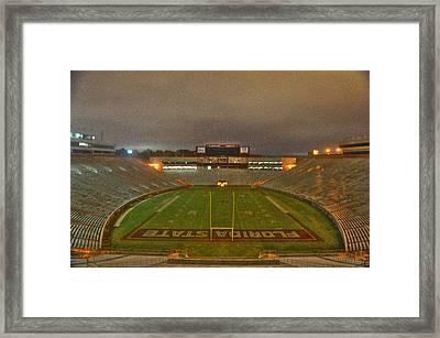 Fear The Spear Framed Print by Alex Owen