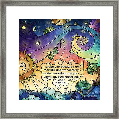 Fearfully And Wonderfully Made Framed Print
