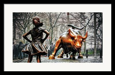 Womens Power Framed Prints